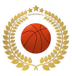The theme basketball vector