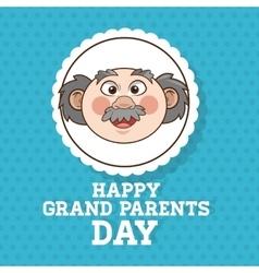 Grandparents design people vector image