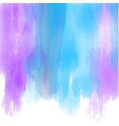 watercolour paint strokes background vector image