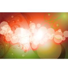 circles flow vector image vector image