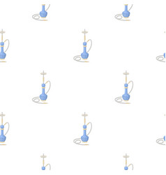 hookah icon in cartoon style isolated on white vector image