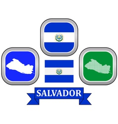 symbol of Salvador vector image