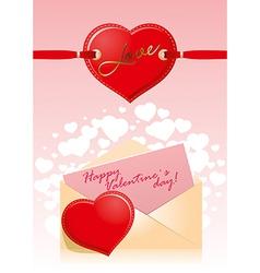 Valentine Hart Love vector image