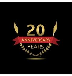 20 Anniversary years vector image vector image