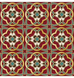 Arabic seamless pattern in editable file vector image