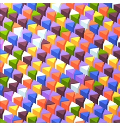 Abstrack triangular background vector image