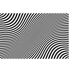 Abstract wavy lines texture vector