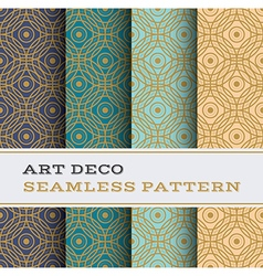 Art Deco seamless pattern 06 vector image