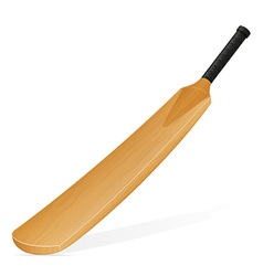 Cricket bat 01 vector