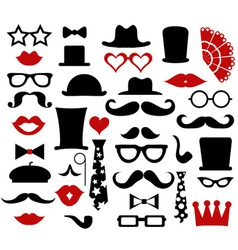 Hipster design elements vector image