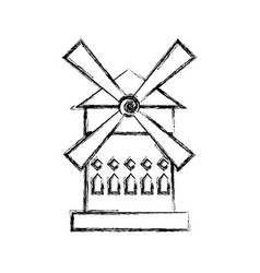 moulin rouge france vector image