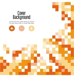 Pixel icon Cover background graphic vector
