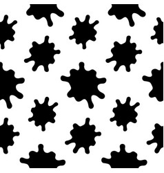 splashes seamless pattern on a white background vector image