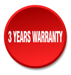 3 years warranty vector
