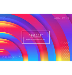 Abstract circle colorful background vector
