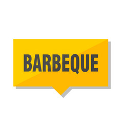 Barbeque price tag vector