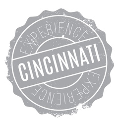 Cincinnati stamp rubber grunge vector