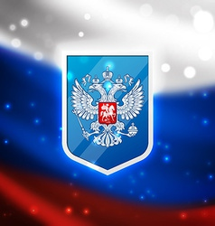 coat arms russian federation vector image