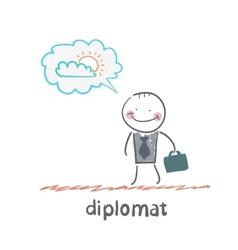 Diplomat vector