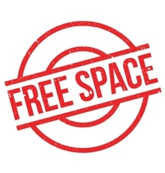 Free Space rubber stamp vector