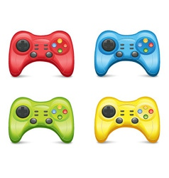 Gamepad Set vector image
