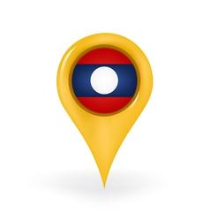 Location Laos vector
