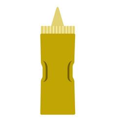 Mustard bottle icon vector