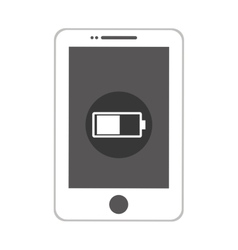 Smartphone mobile technology isolated icon vector