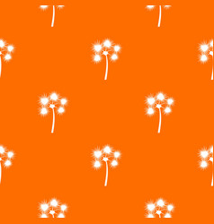 Spiny tropical palm tree pattern seamless vector