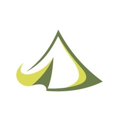 Travel tent vector