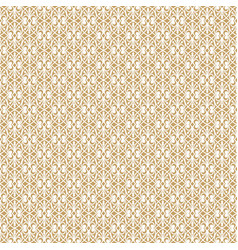 White decorative pattern vector