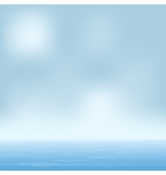 seascape summer sunny day vector image vector image