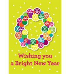 Bright Blessings vector image
