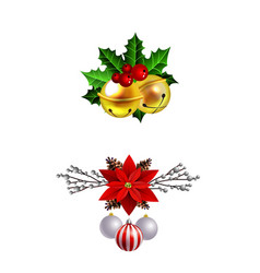 Christmas elements for your designs vector