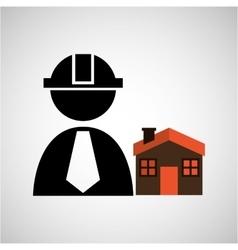 civil engineering icon vector image