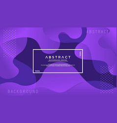 Dynamic textured purple background vector