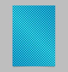 geometrical halftone circle pattern background vector image