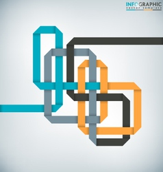 Interlaced Ribbon vector