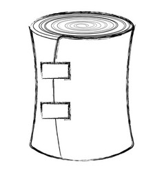 medical bandage isolated icon vector image