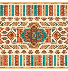 Tribal Mexican ethnic seamless vector