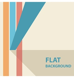 flat background 3 vector image