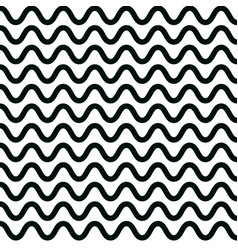 wave pattern design graphic wavy lines vector image vector image