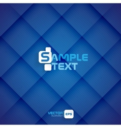 Blue Square Abstract Background vector image