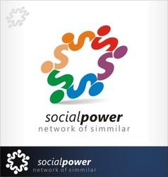 Social power vector
