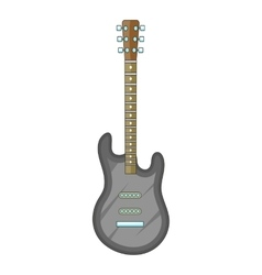 Electric guitar icon cartoon style vector