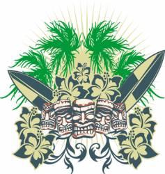 islands vector image