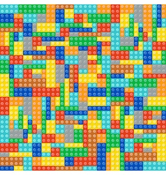 Multicolor brick blocks vector