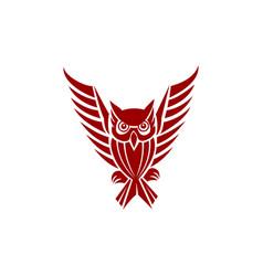 owl logo designs animal vector image