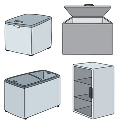 Set of freezer vector