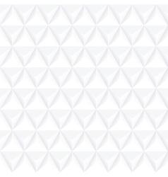 White geometric decorative texture - seamless vector image